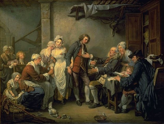 The Village Bride 1761 | Jean-Baptiste Greuze | Oil Painting