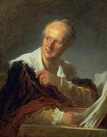 Portrait Of Denis Diderot Circa 1769 | Jean-Honore Fragonard | Oil Painting