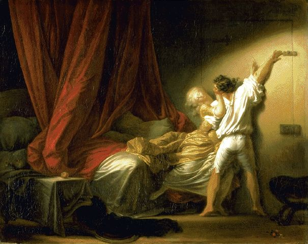 The Bolt Circa 1776-1779 | Jean-Honore Fragonard | Oil Painting