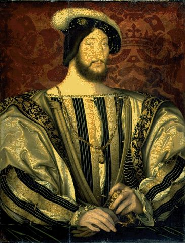 Portrait Of Francois I Circa 1530 | Jean And Francois Clouet Circa | Oil Painting