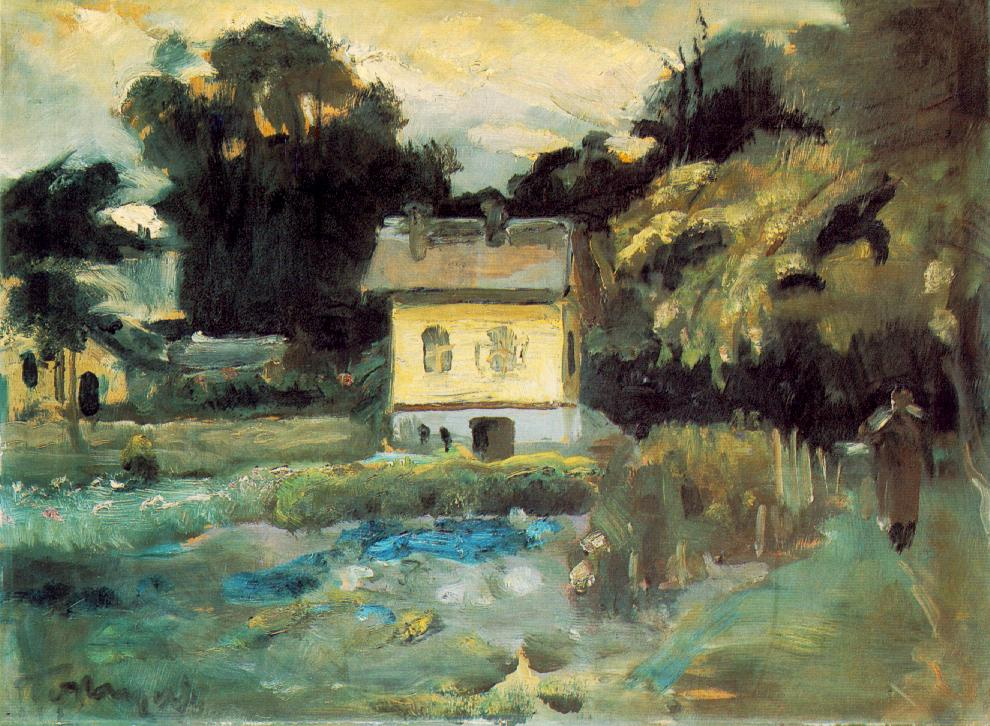 View at Szentendre 1933 | Janos Tornyai | Oil Painting