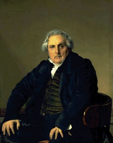 Portrait Of Louis-Francois Bertin 1832 | Jean Auguste Dominique Ingres | Oil Painting