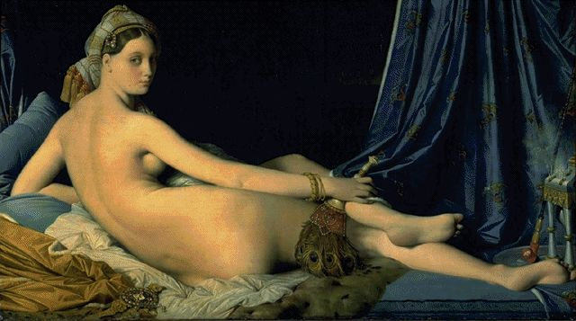 The Great Odalisque 1814 | Jean Auguste Dominique Ingres | Oil Painting