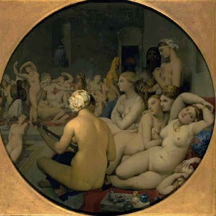 The Turkish Bath 1862 | Jean Auguste Dominique Ingres | Oil Painting
