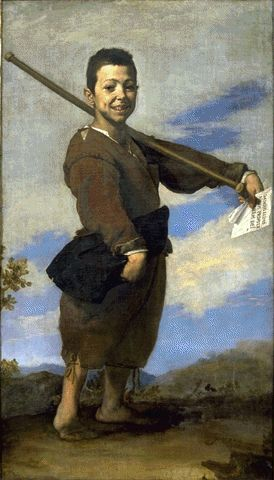 The Club-Footed Boy 1642 | Jusepe De Ribera | Oil Painting