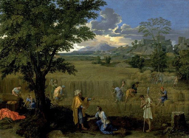 Summer Or Ruth And Boaz Circa 1660-1664 | Nicolas Poussin | Oil Painting
