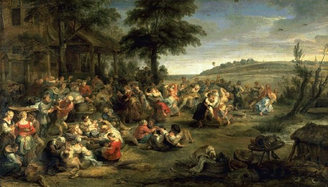 The Village Fete Circa 1635-1638 | Peter Paul Rubens | Oil Painting