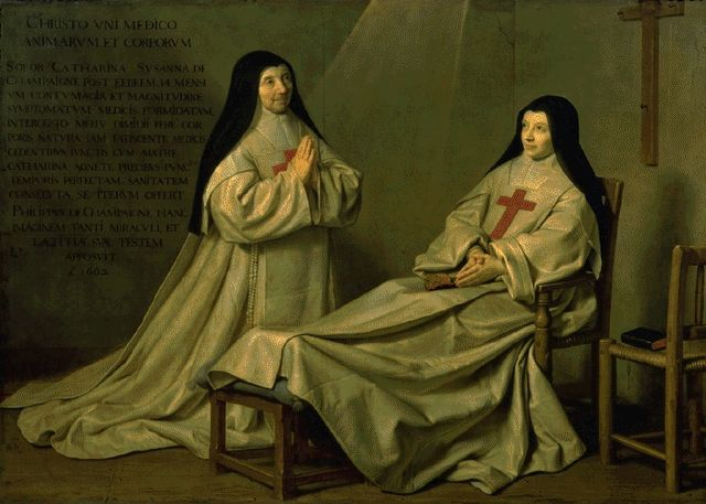 The Ex Voto Of 1662 1662 | Philippe De Champaigne | Oil Painting