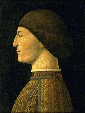 Portrait Of Sigismondo Malatesta Circa 1450 | Piero Della Francesca Circa | Oil Painting