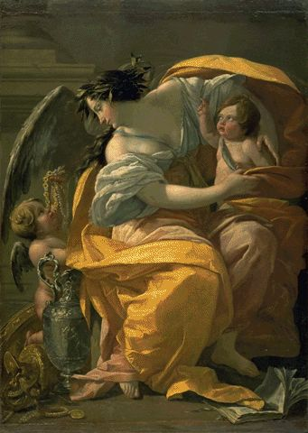 Allegory Of Wealth Circa 1640 | Simon Vouet | Oil Painting
