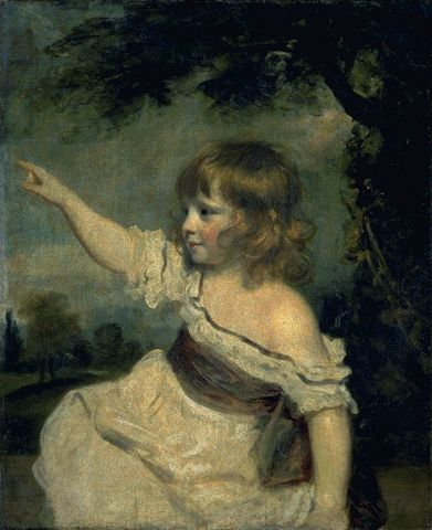 Master Hare 1788-1789 | Sir Joshua Reynolds | Oil Painting