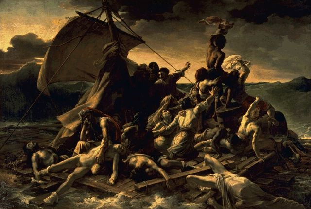 The Raft Of The Medusa 1819 | Theodore Gericault | Oil Painting