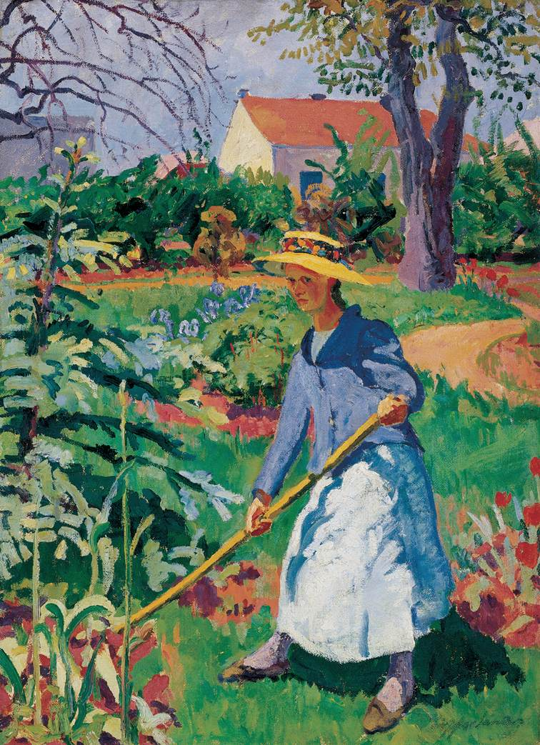 Woman in the Garden 1912 | Sandor Ziffer | Oil Painting