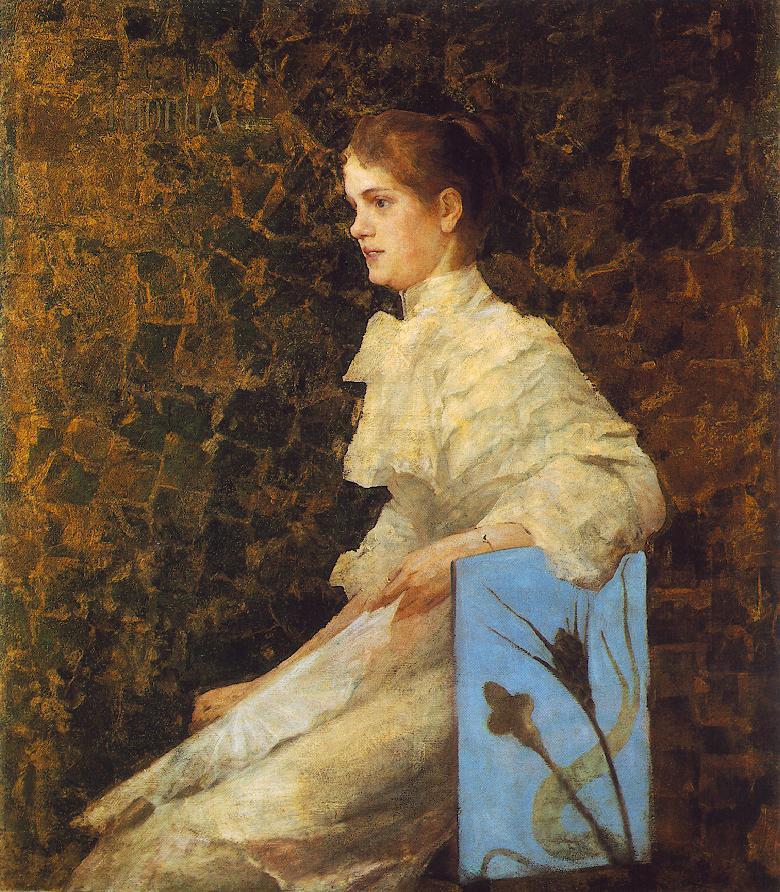 Portrait of Iren Bilcz 1892 | Janos Thorma | Oil Painting