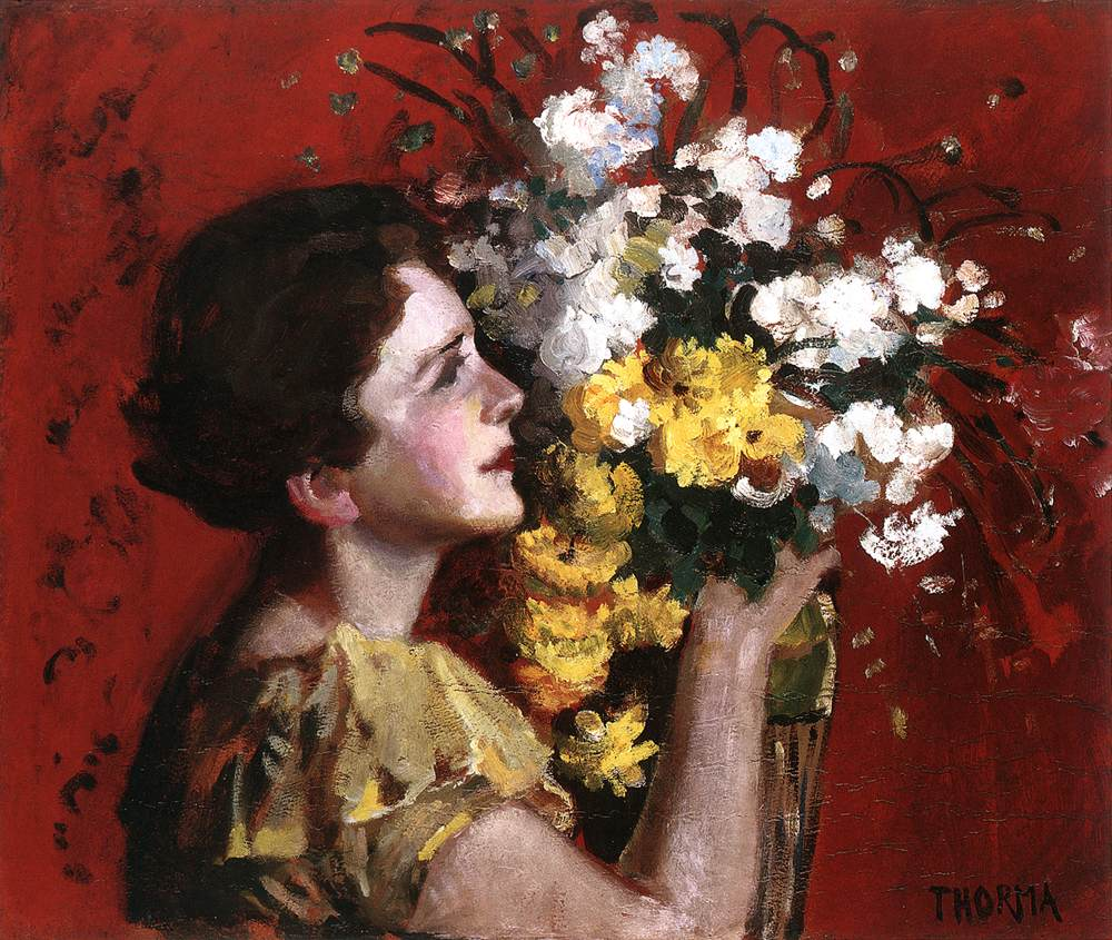 Narcotic Flower Stream 1928 | Janos Thorma | Oil Painting