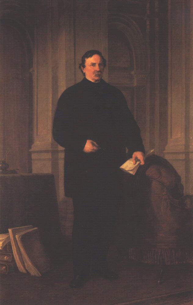 Portrait of Ferenc Deak 1870 | Mor Than | Oil Painting
