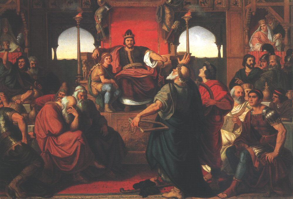 Feast of Attila 1870 | Mor Than | Oil Painting