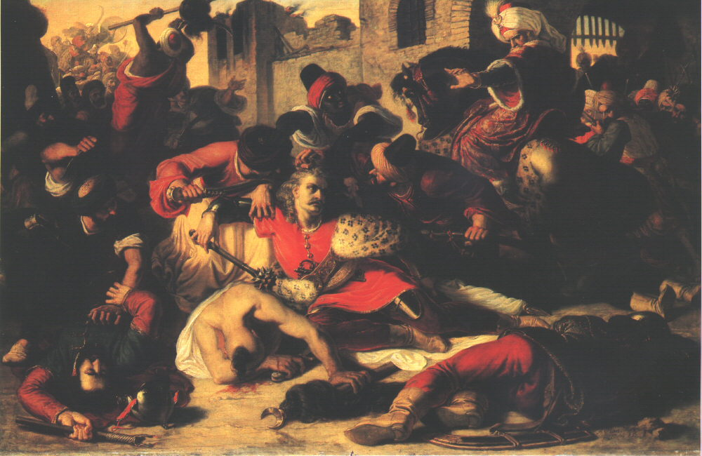 Capture of Nyary and Pekry at Szolnok 1853 | Mor Than | Oil Painting