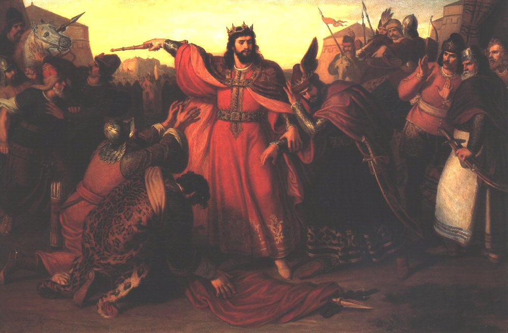 King Emeric Captures His Insurgent Brother, Andrew 1857