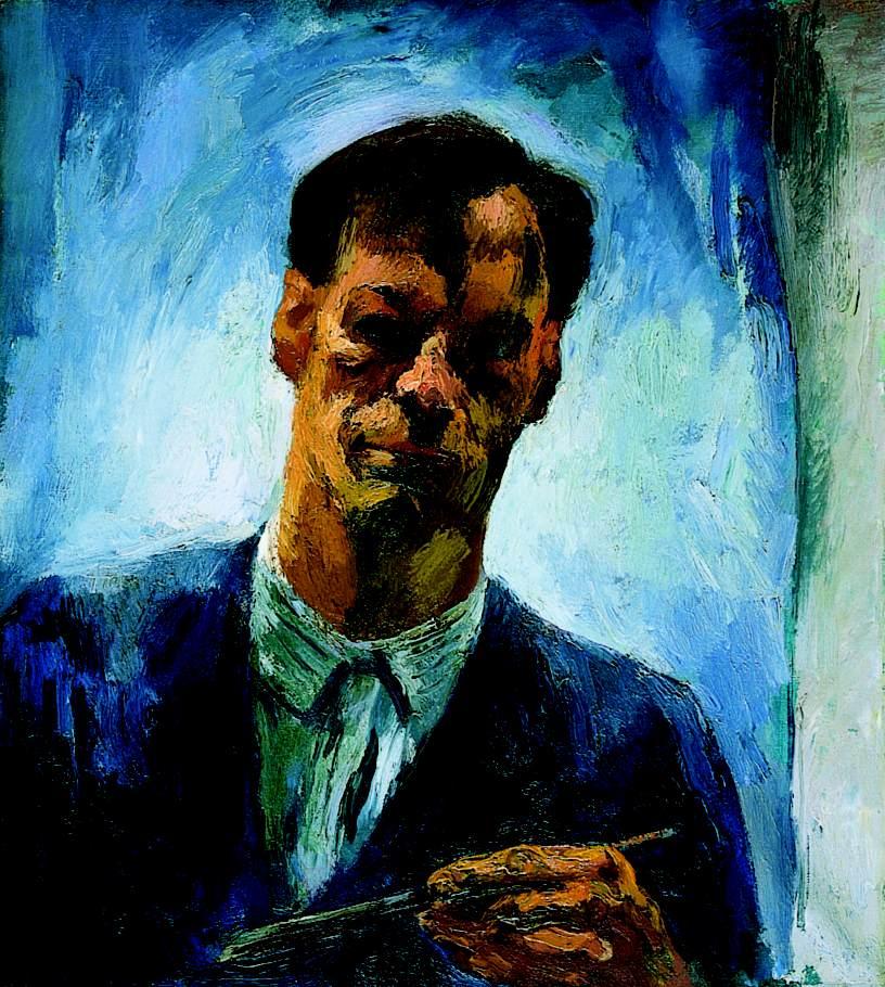 Self Portrait 1928 | Istvan Szonyi | Oil Painting