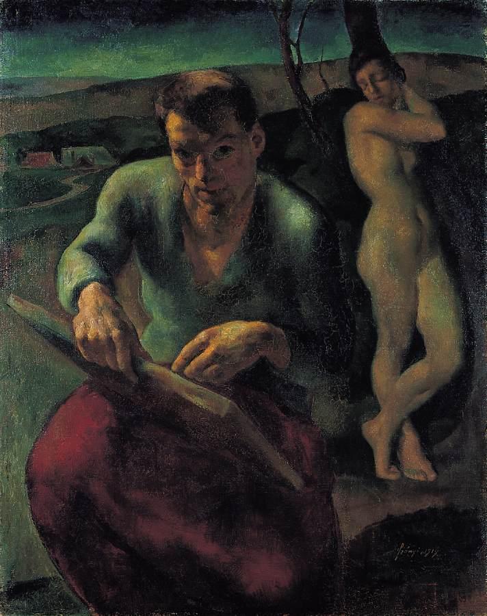 Self Portrait 1919 | Istvan Szonyi | Oil Painting