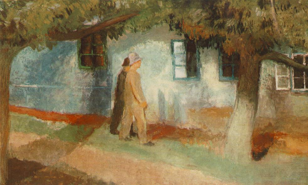 On the Way Home 1938 | Istvan Szonyi | Oil Painting