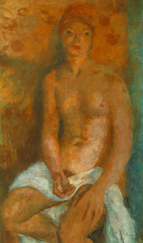 Nude 1936 | Istvan Szonyi | Oil Painting