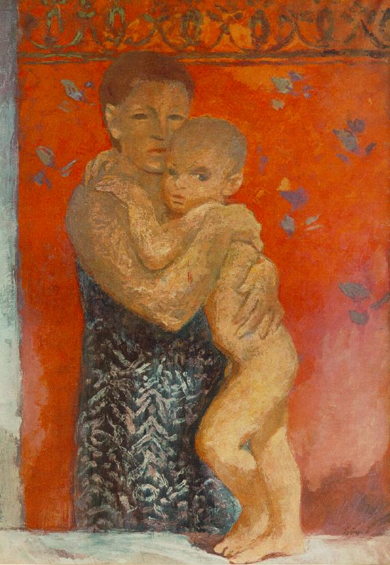 Motherhood 1935 | Istvan Szonyi | Oil Painting