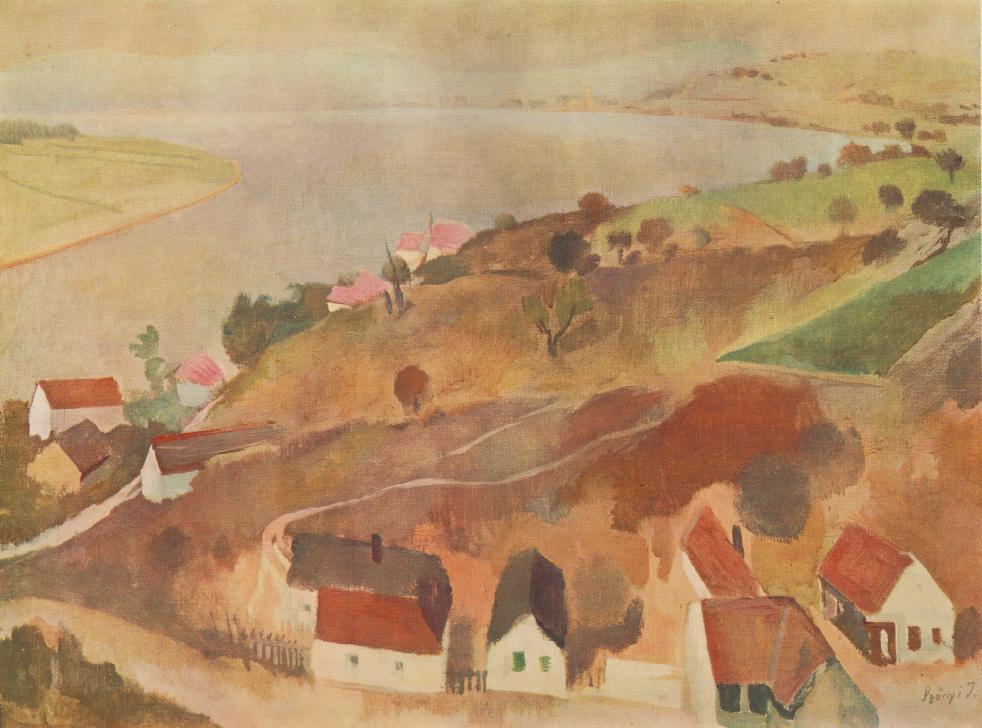 Landscape at Zebegeny 1935 36 | Istvan Szonyi | Oil Painting