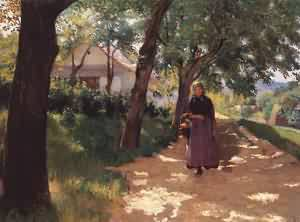Returning Home 1897-98 | Tivadar Zemplenyi | Oil Painting