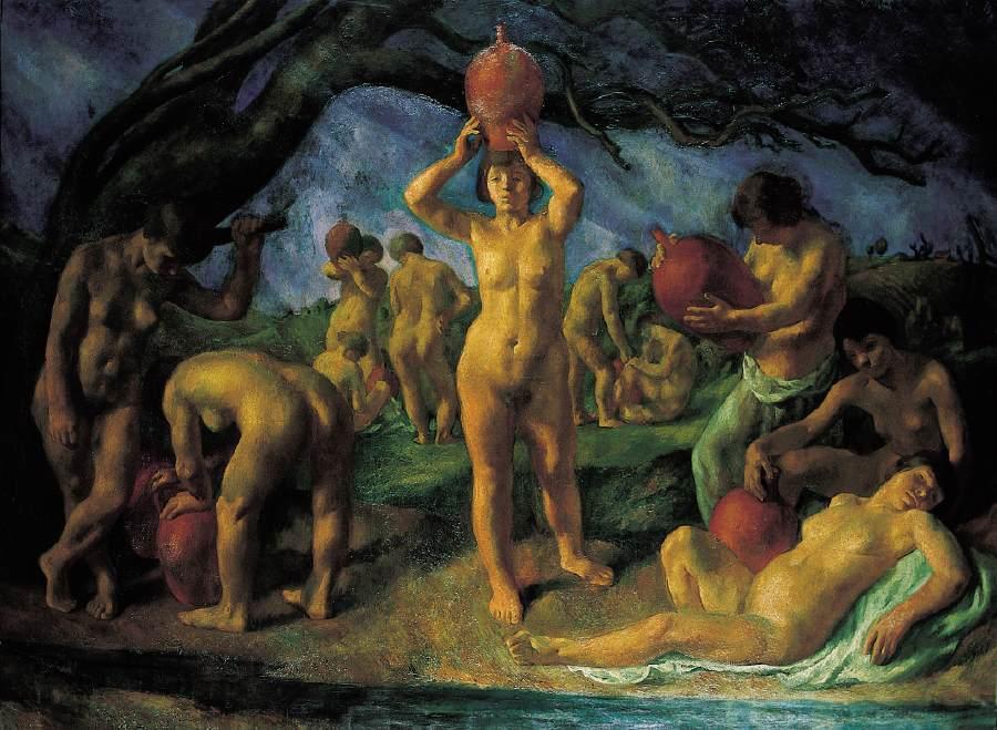 Danaidae 1923 | Istvan Szonyi | Oil Painting