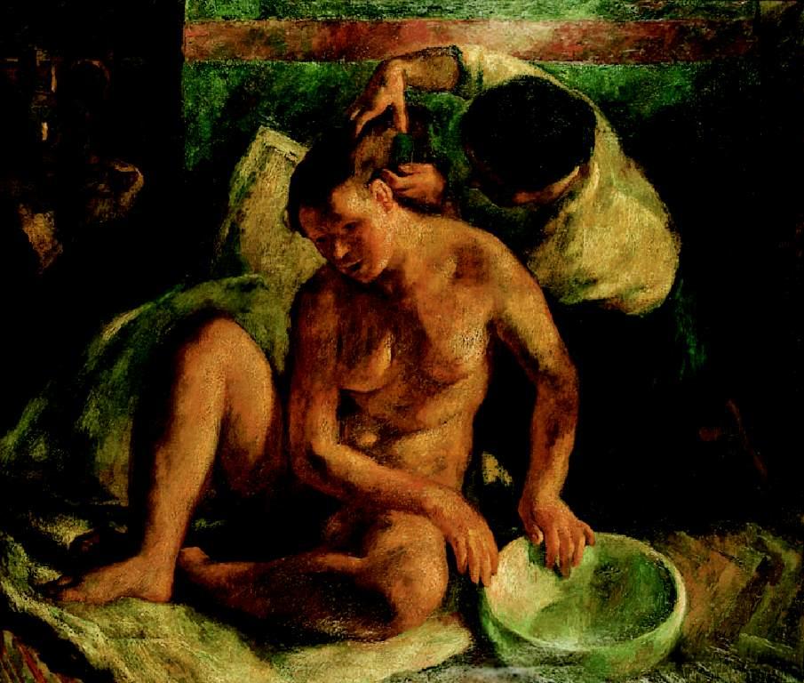 Bethsabe 1923 | Istvan Szonyi | Oil Painting