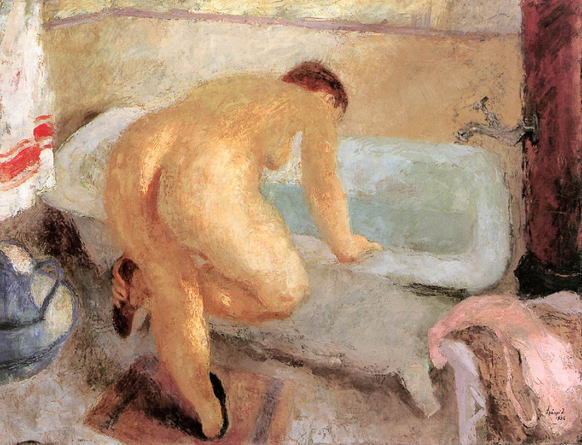 Before the Bath 1936 | Istvan Szonyi | Oil Painting