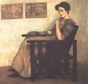 My Wife 1910 | Istvan Zador | Oil Painting
