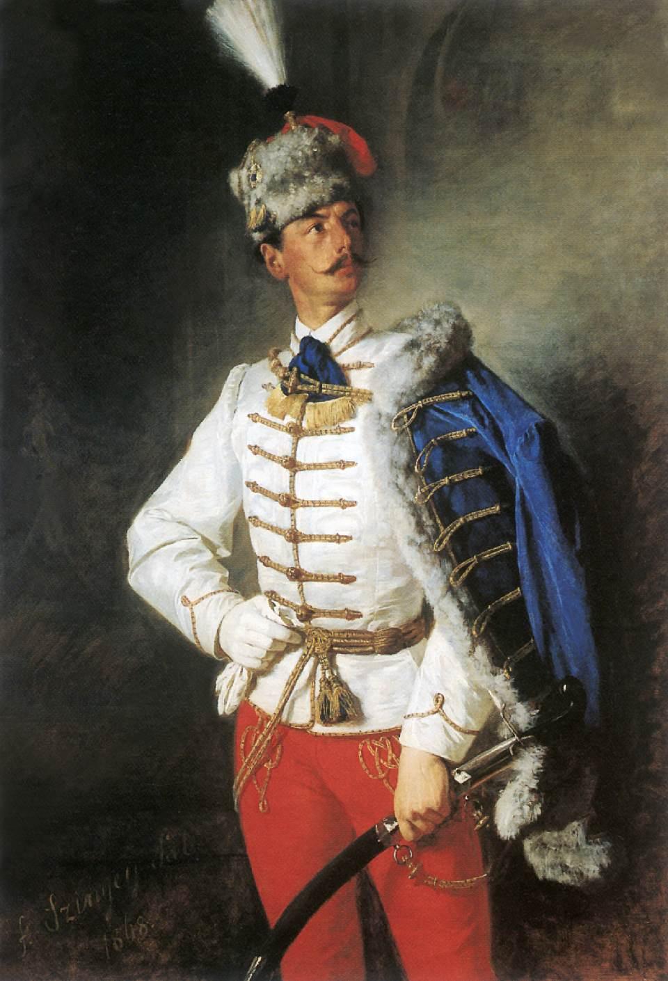 Portrait of Zsigmond Szinyei Merse 1866 | Pai Merse Szinyei | Oil Painting
