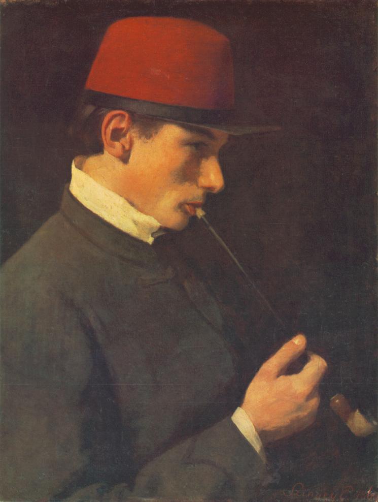 Portrait of Zsigmond Szinyei Merse 1866-2 | Pai Merse Szinyei | Oil Painting