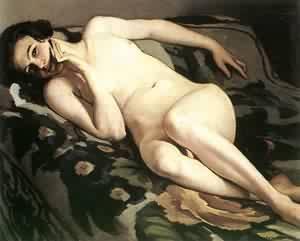 Reclining Nude 1922 | Istvan Zador | Oil Painting