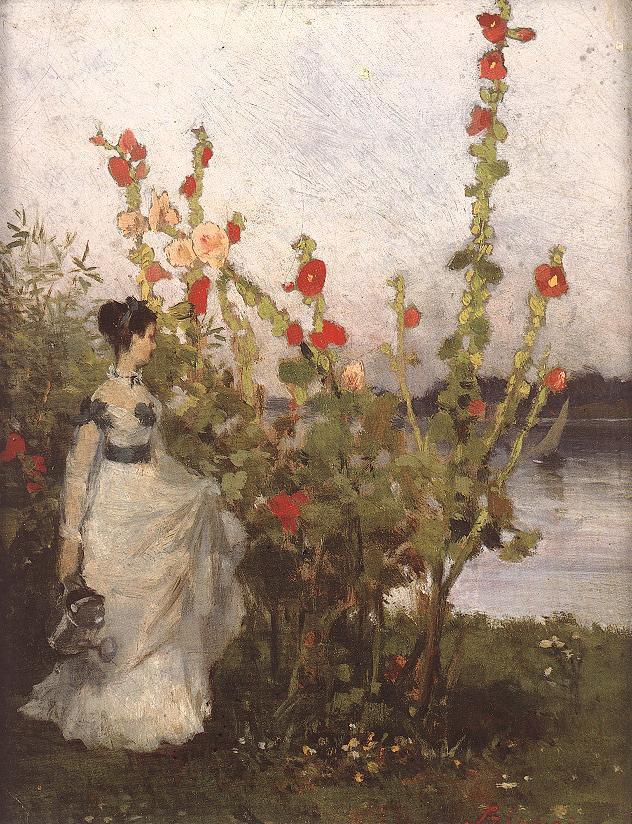 Mallows 1868 69 | Pai Merse Szinyei | Oil Painting