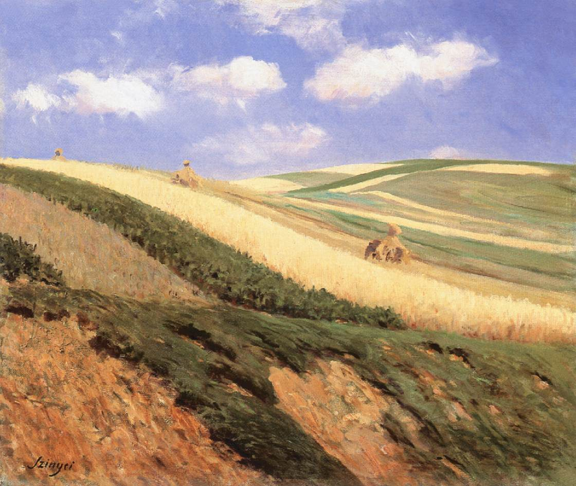 Field 1909 | Pai Merse Szinyei | Oil Painting