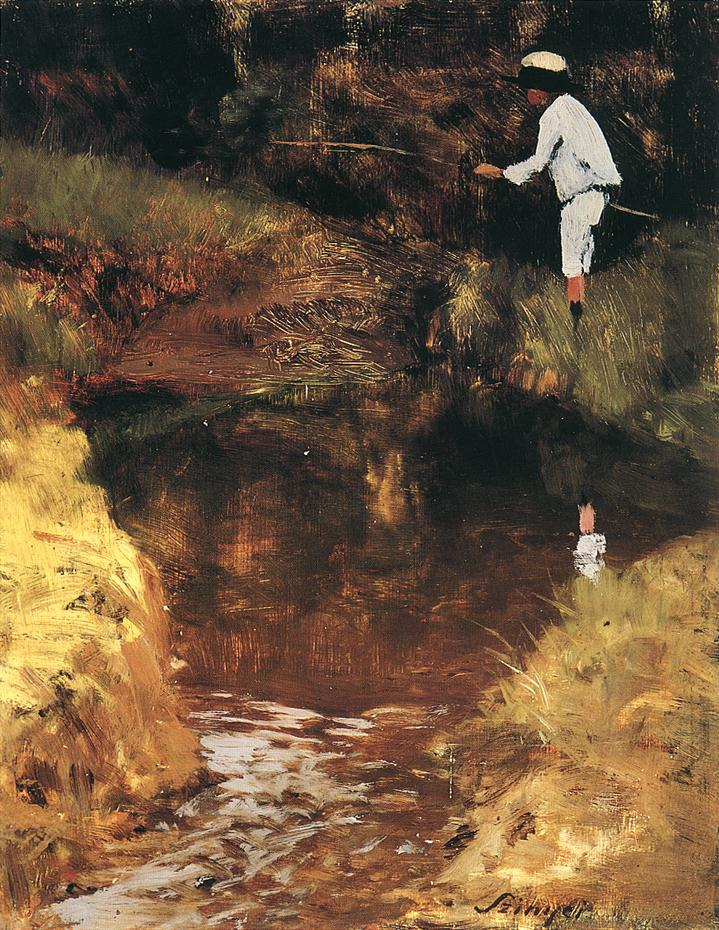 Felix Angling | Pai Merse Szinyei | Oil Painting