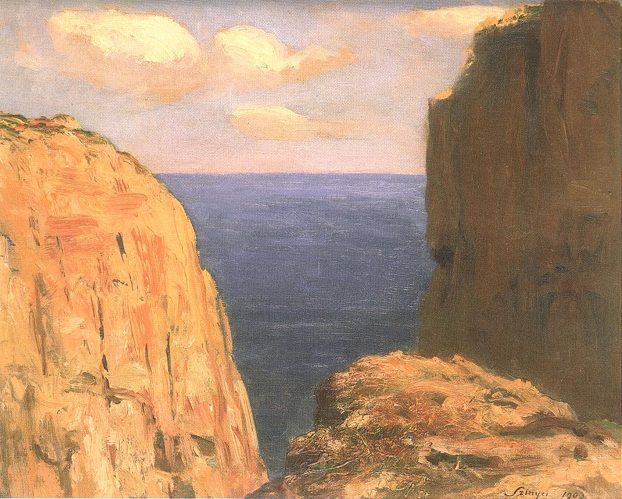 Capri 1903 | Pai Merse Szinyei | Oil Painting