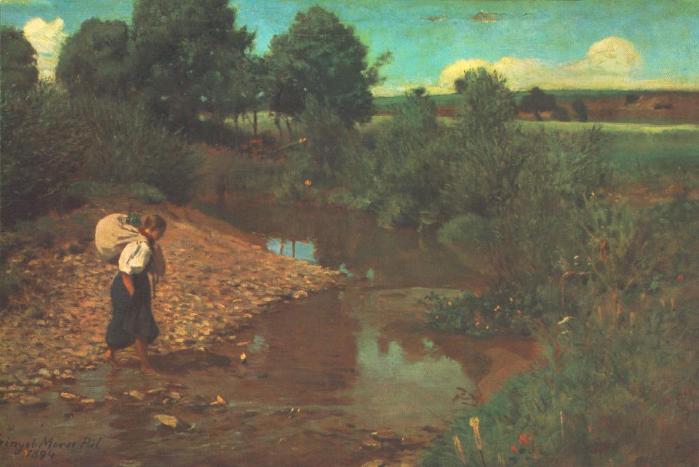 Brook 1883 84 | Pai Merse Szinyei | Oil Painting