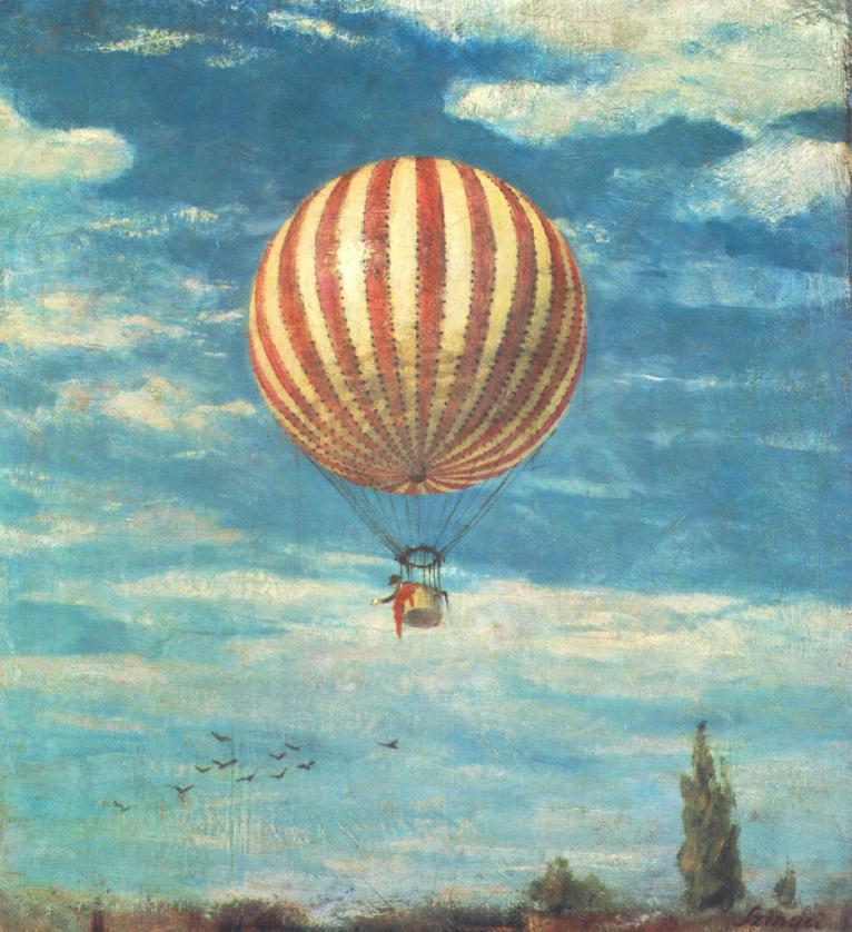 Ballon 1882 | Pai Merse Szinyei | Oil Painting