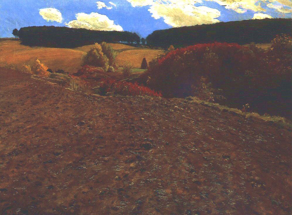 Autumnal Landscape 1900 | Pai Merse Szinyei | Oil Painting