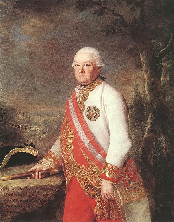 Portrait of General Count Andras Hadik 1783 | Georg Weikert | Oil Painting
