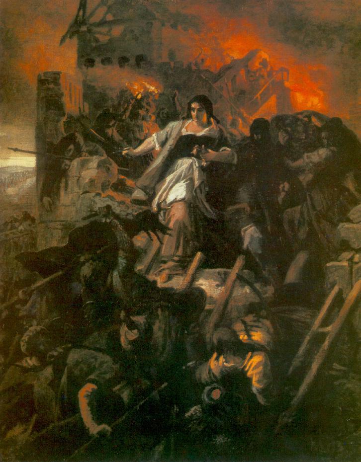 The Women of Eger 1861 | Bertalan Szekely | Oil Painting