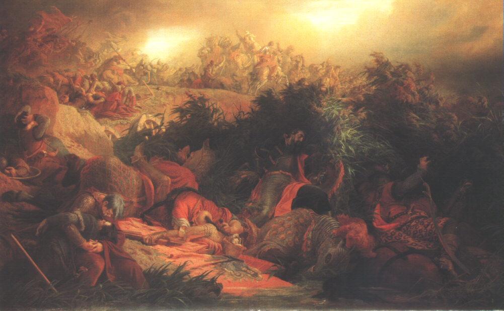 The Battle at Mohacs 1866 | Bertalan Szekely | Oil Painting