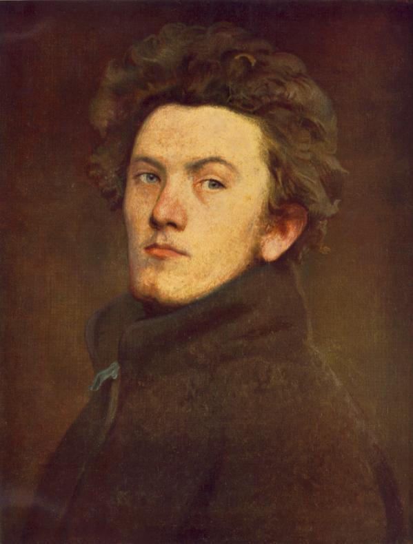 Self portrait 1860 | Bertalan Szekely | Oil Painting