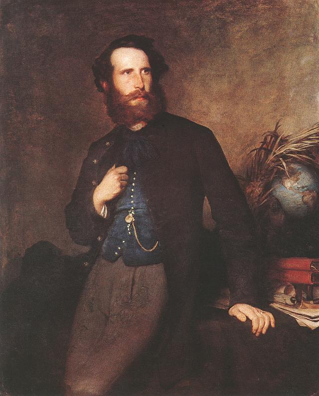 Portrait of Pal Rosty 1862 | Bertalan Szekely | Oil Painting