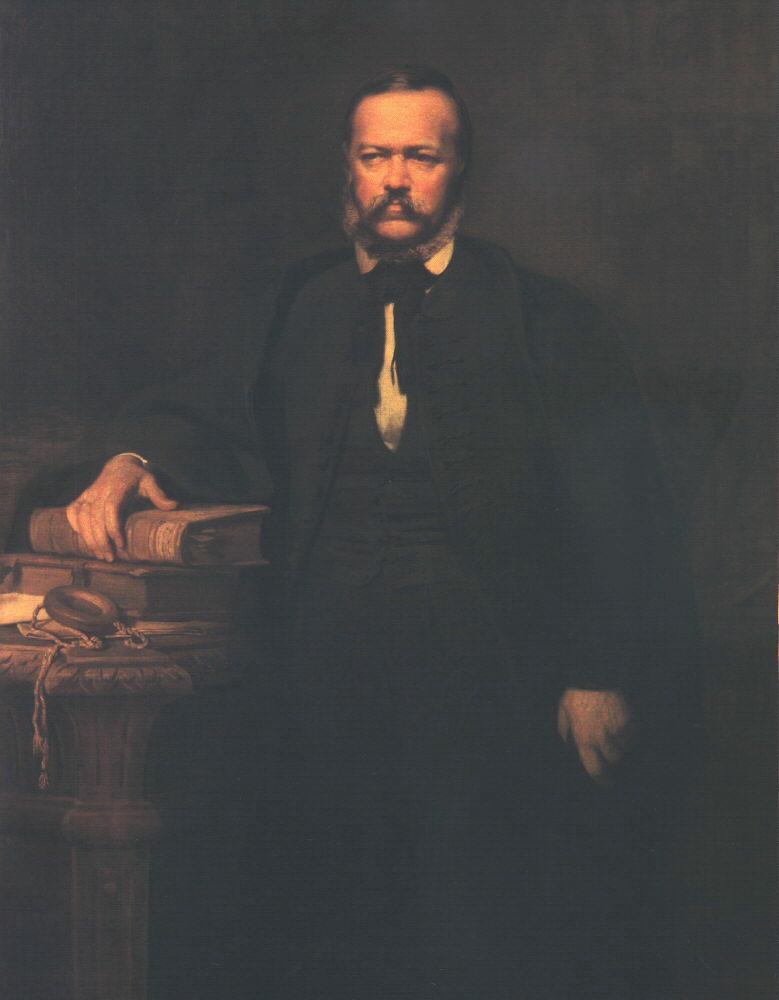 Portrait of Laszlo Szalay 1864 | Bertalan Szekely | Oil Painting